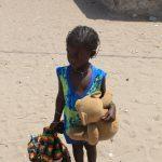 une petite fille africaine